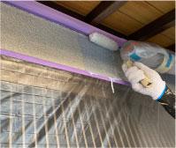 外壁天井塗装工事